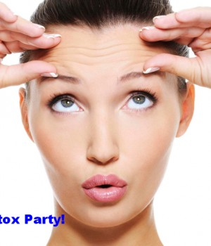 We are glad to invite you to our monthly BOTOX PARTY!